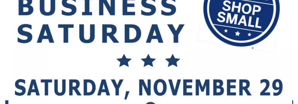 Shop Local on Small Business Saturday | Nov. 29th