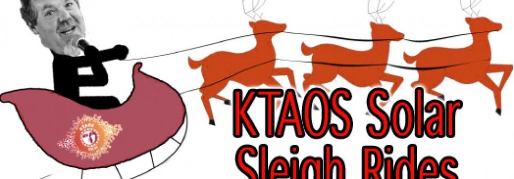 KTAO SOLAR SLEIGH RIDE AT TMO