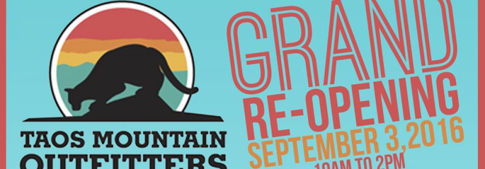 TMO's GRAND RE-OPENING SEPT 3 & MORE!