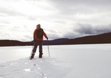Snowshoes for TMO - Winter hiking in Taos